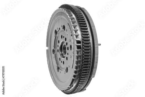 Leinwanddruck Bild flywheel car