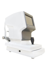 The image of test vision machine