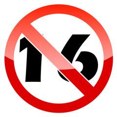 Not sixteen