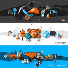 Road Repair Banners