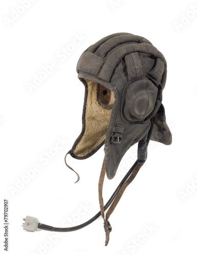 alte antike militär panzerkappe, panzerhaube - 79702907