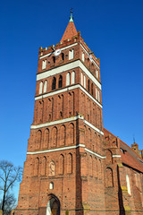Church of St. George. Pravdinsk (Friedland), Kaliningrad region,