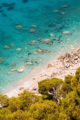 Lefkada island beach