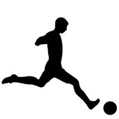 Silhueta - Futebolista