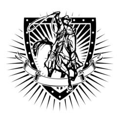 cowboy shield