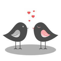 verliebte vögelchen II