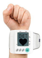 Diet Digital blood pressure monitor