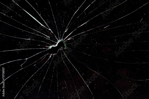 broken glass - 79708107