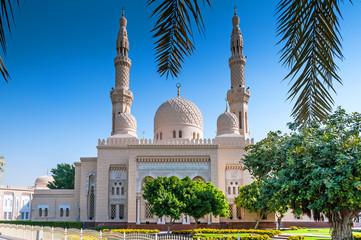 View of Jumeirah Mosque, Dubai