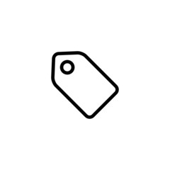Tag Trendy Thin Line Icon