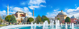 Panorama with the fountain - 79709906