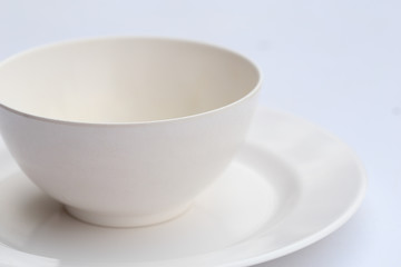 set of bowl with plate