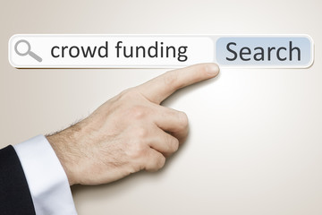 web search crowd funding