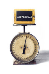 Prevention on an antique scale