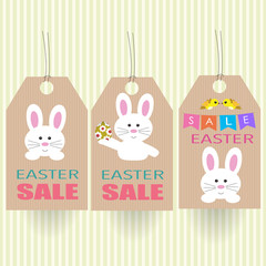 Easter eggs sale tag