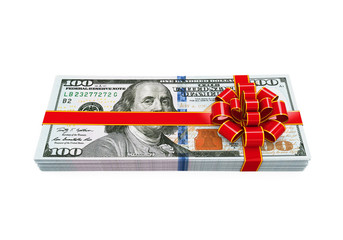 Money Gift Isolated