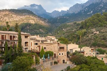 Fornalutx village in Majorca