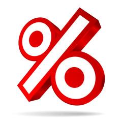 Angled Percent Sign Sale