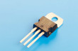 Leinwanddruck Bild - semiconductor transistor