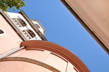 Abstract architecture in Zadar, Croatia