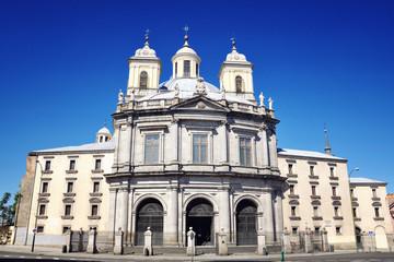 San Francisco el Grande Basilica in Madrid, Spain