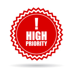 High priority icon