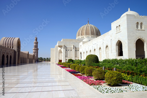 Sultan Qaboos Grand Mosque, Muscat, Oman - 79724505
