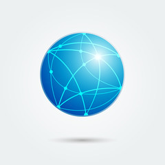 global network emblem