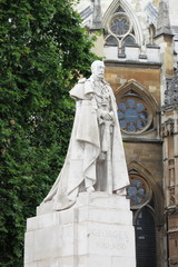 King George V memorial in London, UK