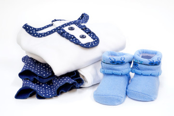 Set of Baby dress with sock