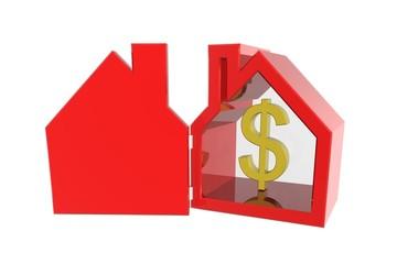 Negatieve waarde ontwikkeling van huizen in America
