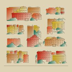Set - the city