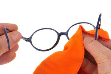 Nettoyage des lunettes
