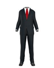 Empty Suit Figure