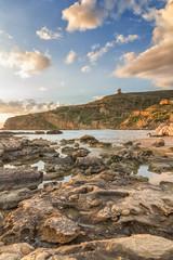 """Beach of """"Le Pergole"""" in Sicily, near Agrigento"""
