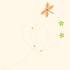 Dragonfly and Heart