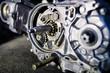 オートバイのエンジン