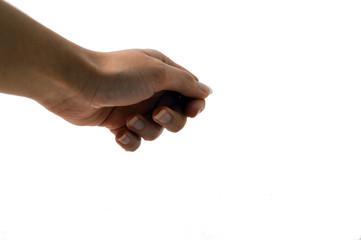 gesto con la mano