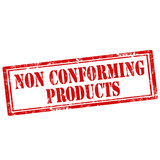 Non Conforming Product-stamp poster