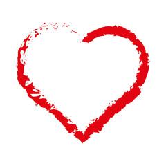 Herz Skizze