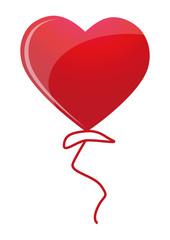 Luftballon Herzform