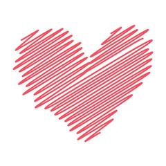 Herz abstrakt