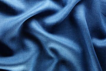 blue sackcloth background