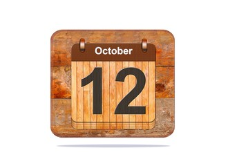 October 12.