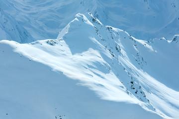 Winter mountain view (Austria)