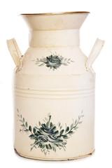 shabby chic milk churn vase