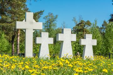German prisoners of war cemetery in the city Lezhnevo Ivanovo re