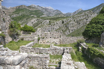 Ruins of Old Bar, Montenegro