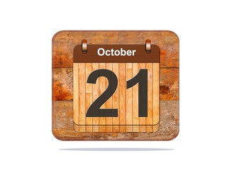 October 21.