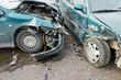 automobile crash collision in urban street - 79738956